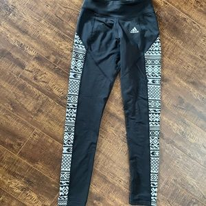 Climawarm adidas workout leggings